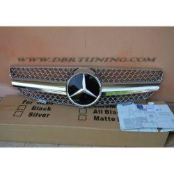 Calandra look SL Mercedes CLK W209 02-09 cromata