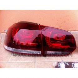 Taillight LED GOLF 6 R Look 08-12 red-clear