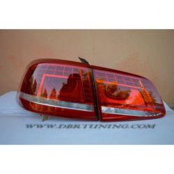Fanali LED VW PASSAT B7 10-14 rosso ciliegia