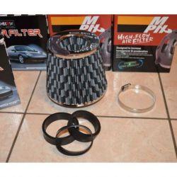 Filtro aria sport conico MPH universale 127X150 dark