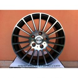 alloy wheel AVUS AC-M03 Black Polished 17