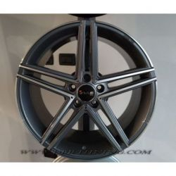 Alloy wheel AVUS AC-515 Anthracite Polish 18