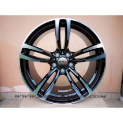 Alloy wheel MM045 M4 Black Polish 17