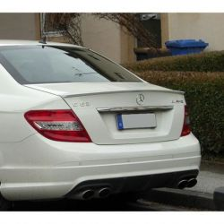 Spoiler piccolo look AMG MERCEDES C 07-11