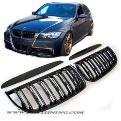 Grill BMW E90 E91 look M3 05-08 black