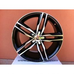 Cerchi in lega F555 Black Polished da 19