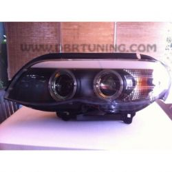 Fari Angel Led Bmw X5 (X53) 03-07 neri