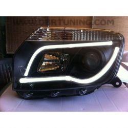 Headlight Led TubeLight Dacia-Renault Duster 11- neri