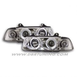 Headlights Led Angel Eyes BMW 3 E36 coupè 92-99