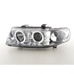 Headlights Led Angel Eyes Seat Leon (1M) 99-05