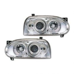 Fari Angel Eyes VW Golf 3 (1HXO-1EXO) 91-98