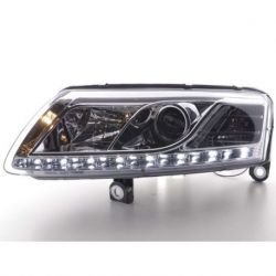 Coppia fari Daylight DRL Audi A6 4F 04-08