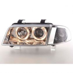 Coppia fari Angel Eyes Audi A4 B5 95-99