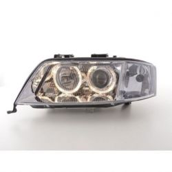 Coppia fari Angel Eyes Audi A6 (4B) 97-01