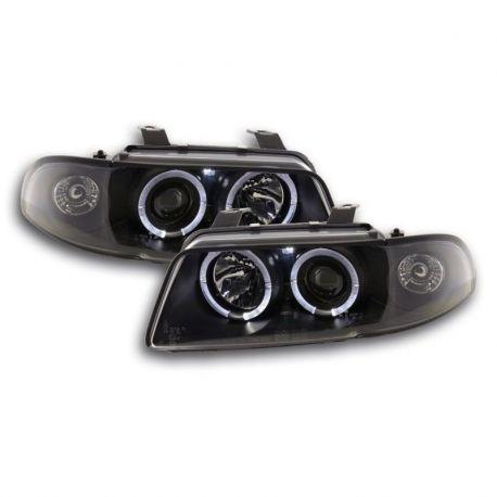 Gruppi ottici Angel Eyes Audi A4 (B5) 95-99 neri