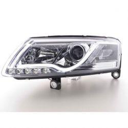 Coppia fari TubeLight Audi A6 4F 04-08 DRL