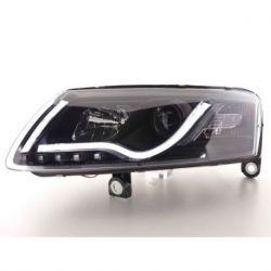 Coppia fari TubeLight Audi A6 4F 04-08 XENON neri