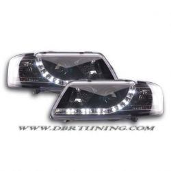 Gruppi ottici Daylight Led Audi A3 (8L) 96-00 neri