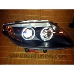 Gruppi ottici Angel eyes Bmw Z4 E85 E86 03-08 neri