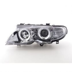 Fari Angel Eyes Led BMW 3 E46 01-05