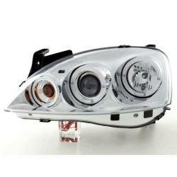 Headlight Angel Eyes Led Opel  Corsa C 00-06