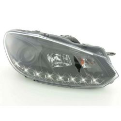 Gruppi ottici Daylight LED DRL GOLF 6 08- neri