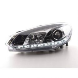 Gruppi ottici Daylight LED DRL GOLF 6 08- cromo
